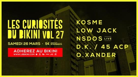 NSDOS @ Le BIKINI – TOULOUSE (Fr)