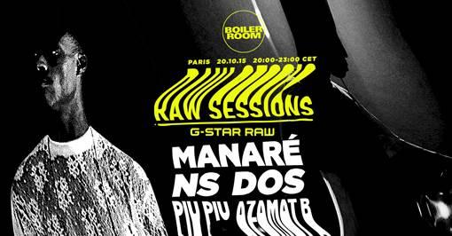 MANARÉ & NSDOS @ BOILER ROOM