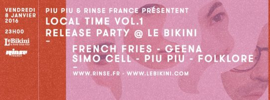 RINSE FRANCE LOCAL TIME Vol. 1