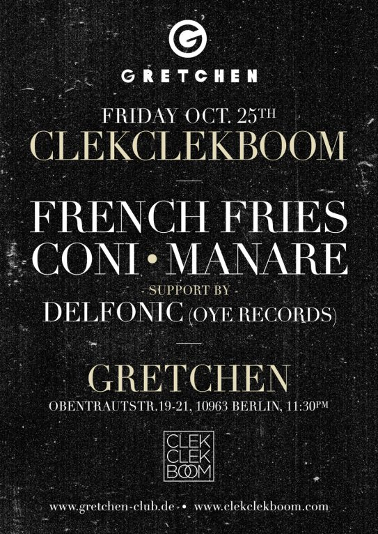 CLEKCLEKBOOM LABEL NIGHTS