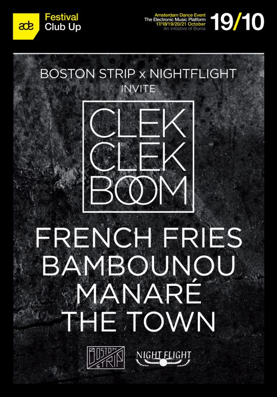 CLEKCLEKBOOM LABEL NIGHTS